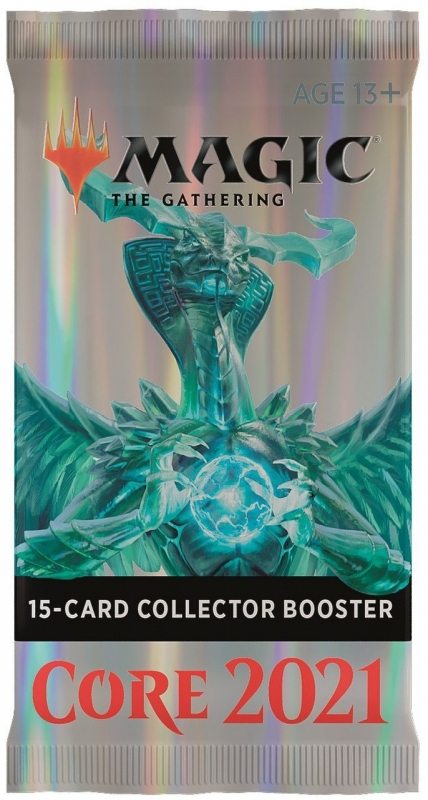 Magic the Gathering - COLLECTOR BOOSTER - CORE SET 2021 - INGLESE
