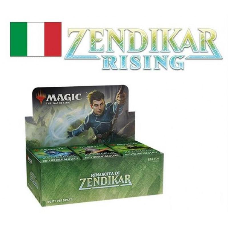 Magic the Gathering - BOX da 36 BUSTINE DI RINASCITA DI ZENDIKAR