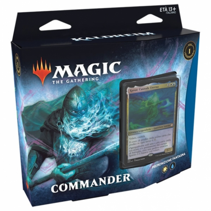 Magic the Gathering - Commander Kaldheim- Premonizione Fantasma (Italiano)
