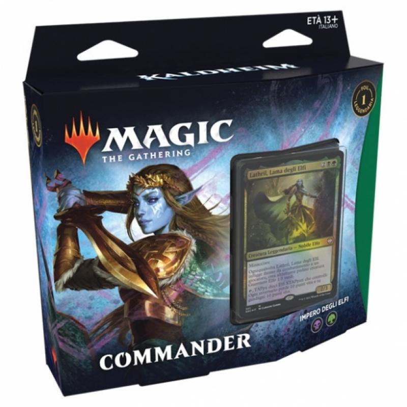 Magic the Gathering - Commander Kaldheim- Impero degli Elfi (Italiano)