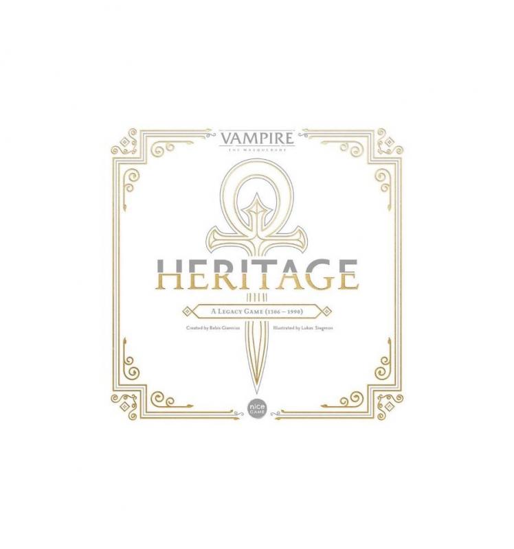 VAMPIRI LA MASQUERADE: HERITAGE KICKSTARTER EDITION (SCATOLA BIANCO)