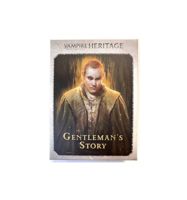 VAMPIRI LA MASQUERADE: HERITAGE - THE GENTLEMAN'S STORY (Espansione)