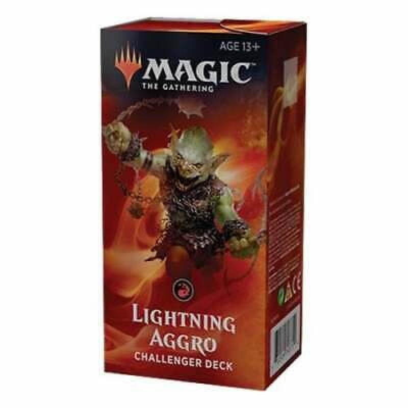 Magic the Gathering - CHALLENGER DECKS 2019 - Lightning Aggro