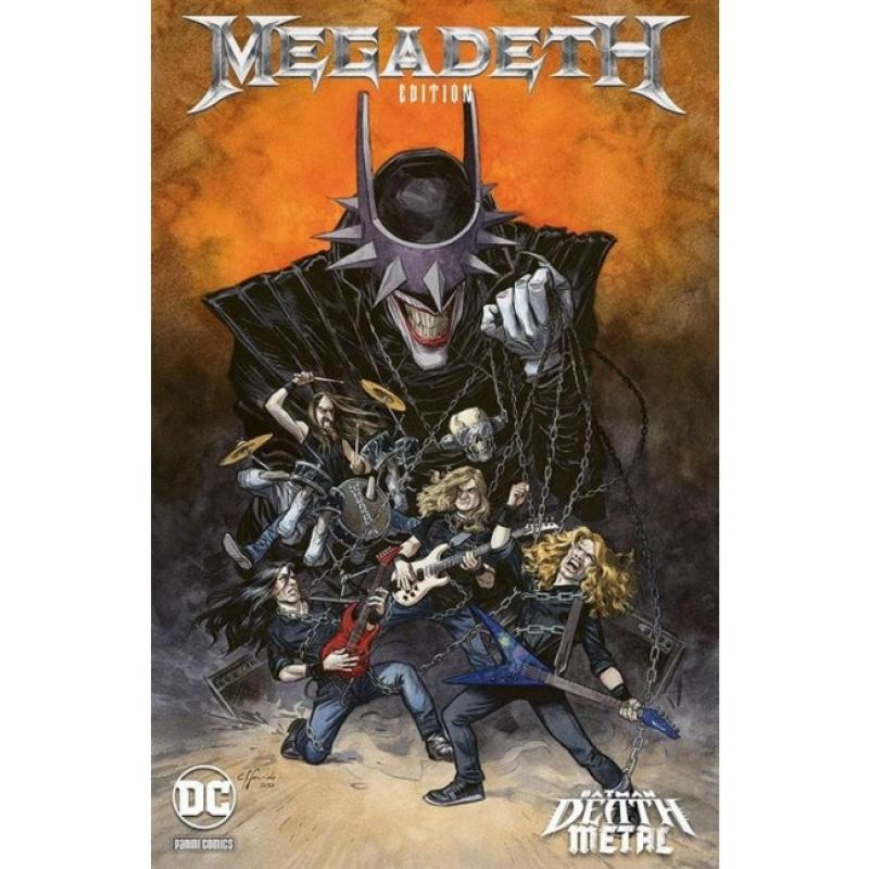 BATMAN: DEATH METAL #1 - VARIANT BAND: MEGADETH (DC CROSSOVER #7)