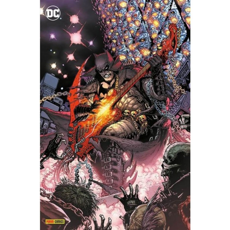 BATMAN: DEATH METAL #1 - VARIANT METAL (DC CROSSOVER #7)