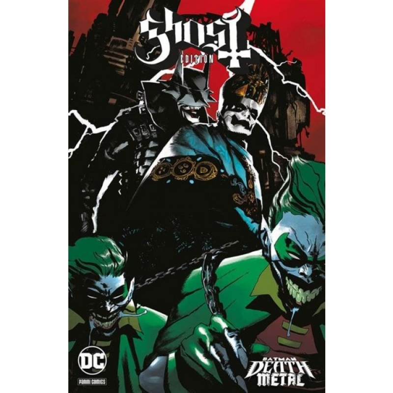 BATMAN: DEATH METAL #2 - VARIANT BAND: GHOST (DC CROSSOVER #8)