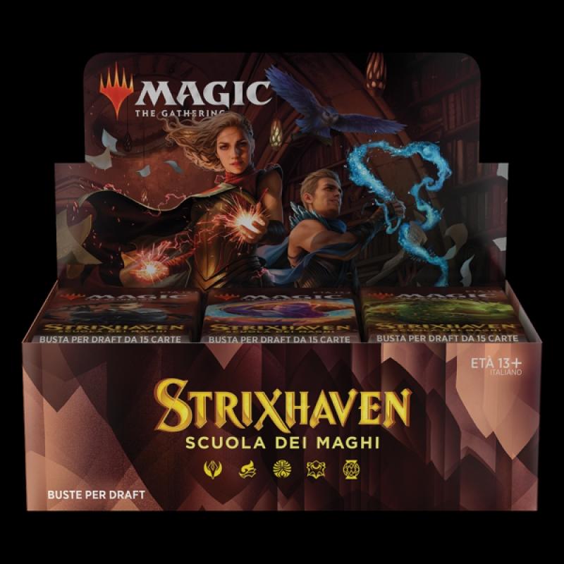 Magic the Gathering - BOX da 36 BUSTINE DI STRIXHAVEN (Italiano)