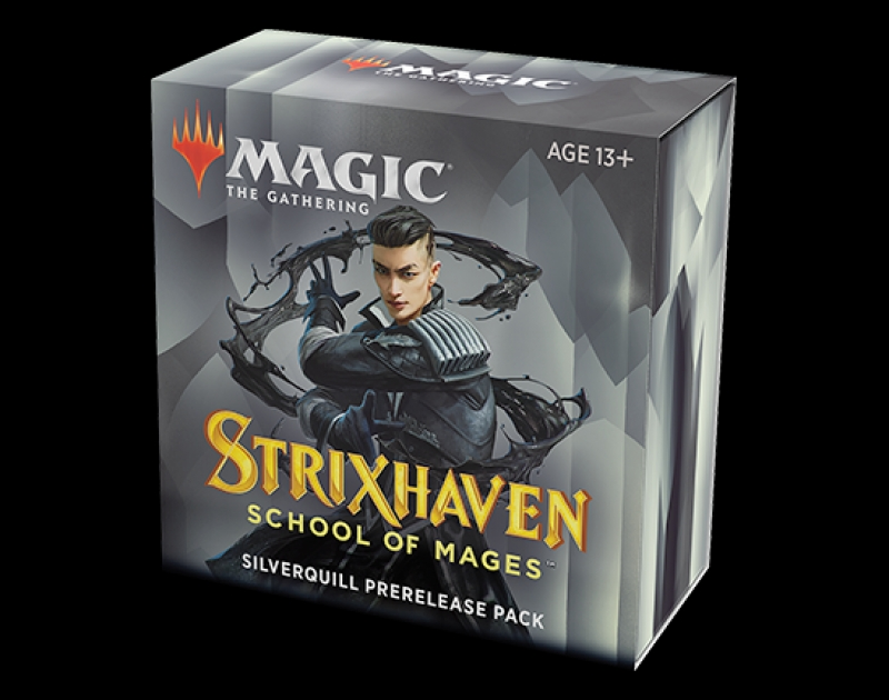 Magic the Gathering- STRIXHAVEN: SCHOOL OF MAGES - PRERELEASE PACK PENNARGENTO