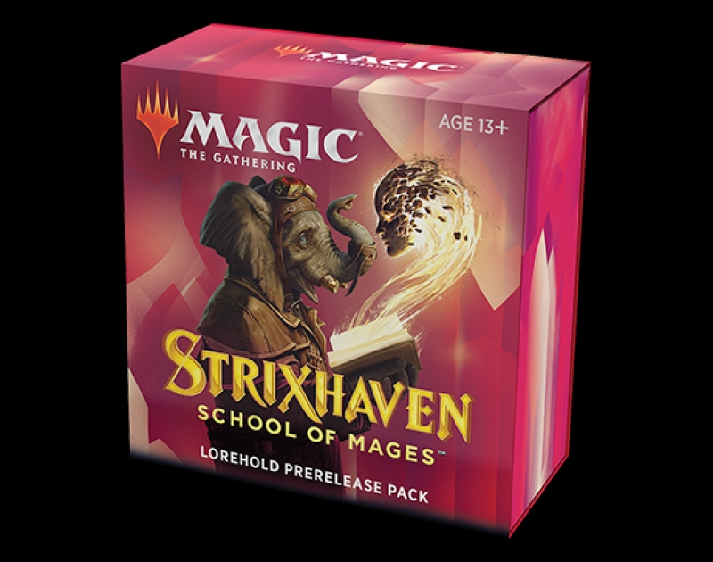 Magic the Gathering- STRIXHAVEN: SCHOOL OF MAGES - PRERELEASE PACK ARCHEOROCCA