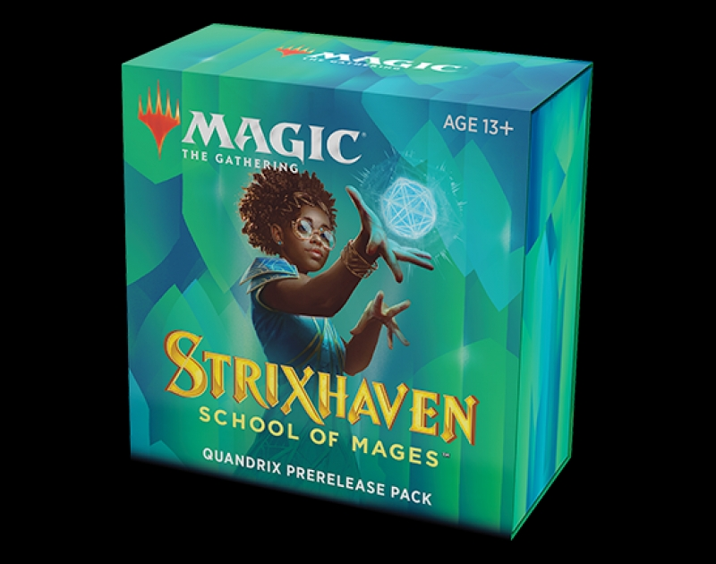 Magic the Gathering- STRIXHAVEN: SCHOOL OF MAGES - PRERELEASE PACK QUANDRIX