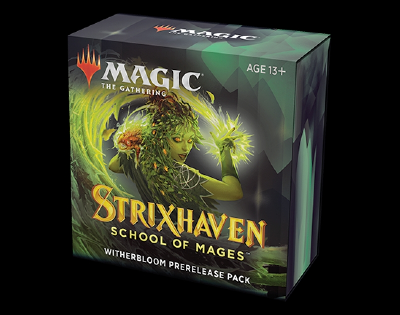 Magic the Gathering- STRIXHAVEN: SCHOOL OF MAGES - PRERELEASE PACK WITHERBLOOM