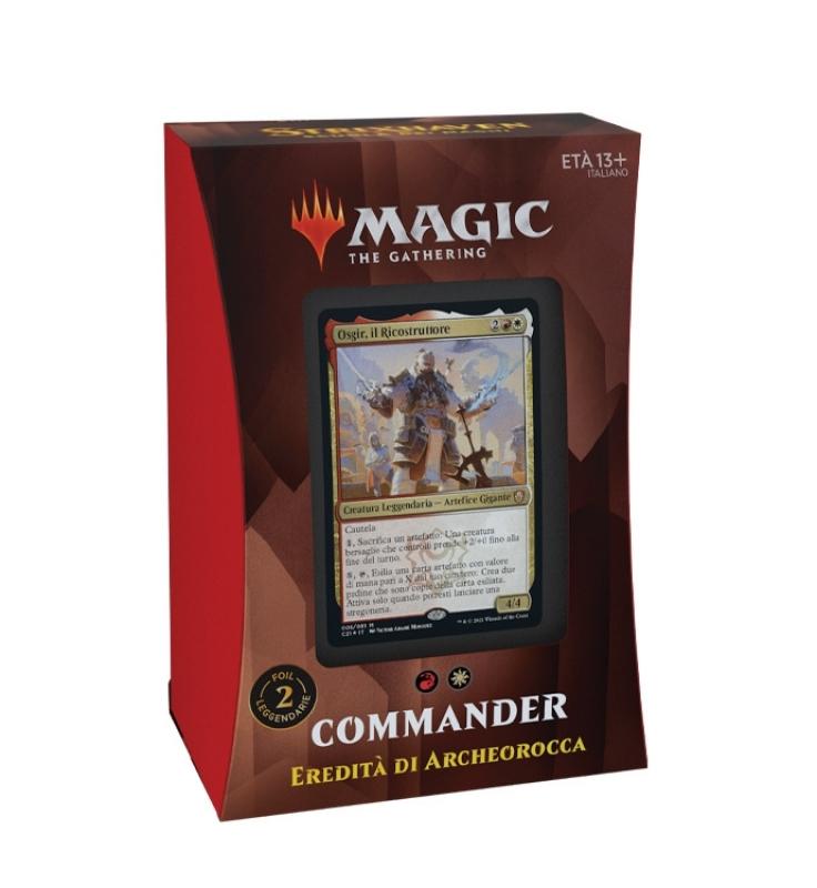 Magic the Gathering- STRIXHAVEN: SCUOLA DEI MAGHI - COMMANDER DECK 2021 (Eredità di Archeorocca)