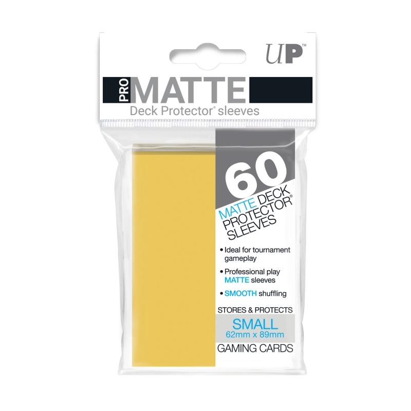 84268 - 60 BUSTINE MINI PRO-MATTE (Japanese size) - GIALLO