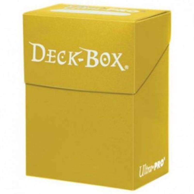 82476 - PORTA MAZZO - DECK BOX - GIALLO