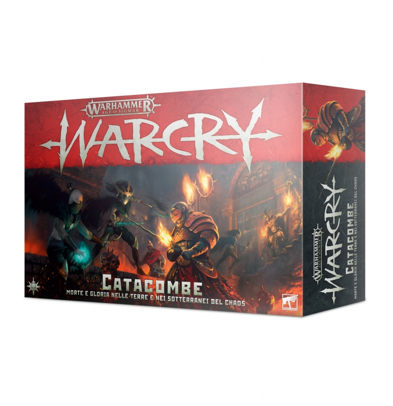 Warcry: Catacombe - Scatola Base
