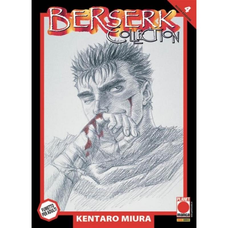 BERSERK COLLECTION SERIE NERA #4 - RISTAMPA