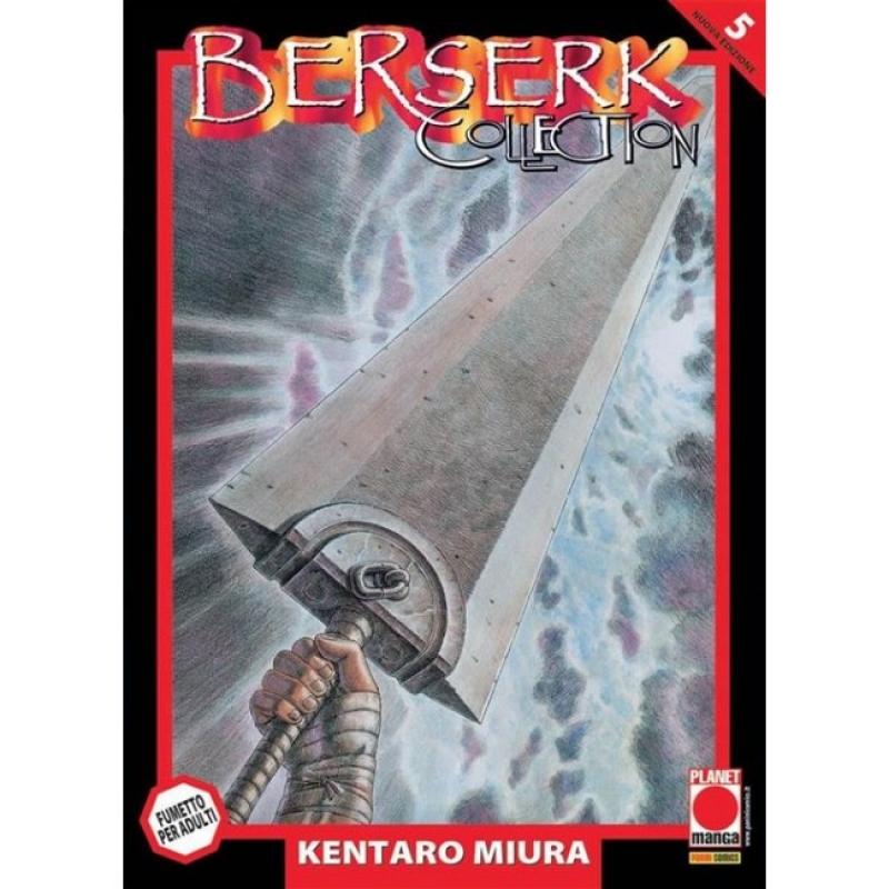 BERSERK COLLECTION SERIE NERA #5 - RISTAMPA