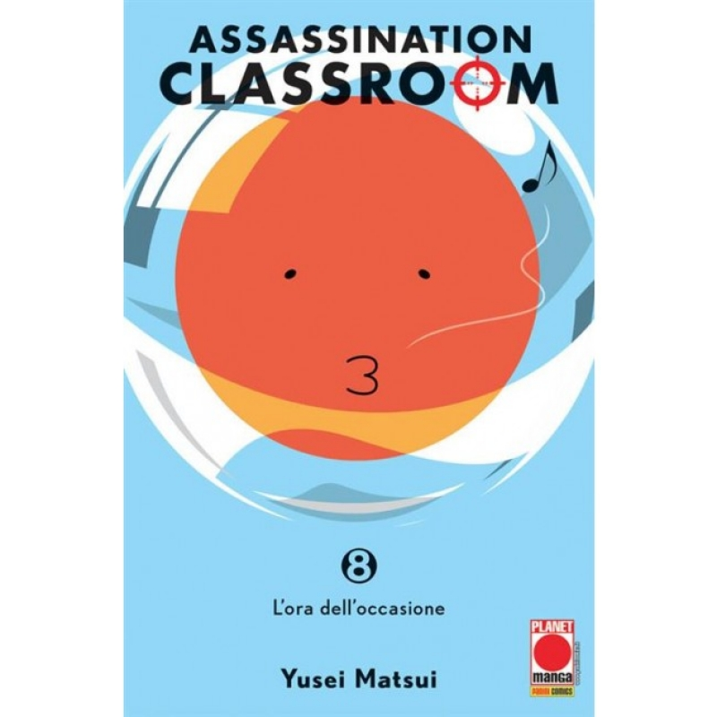 ASSASSINATION CLASSROOM #8 - RISTAMPA
