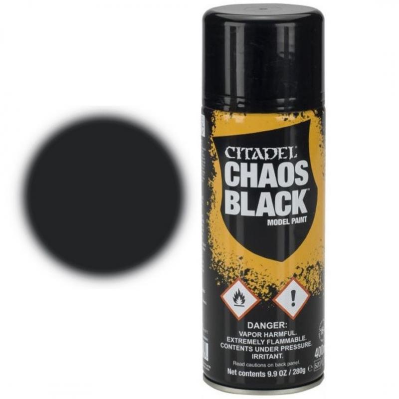SPRAY PRIMER - CHAOS BLACK
