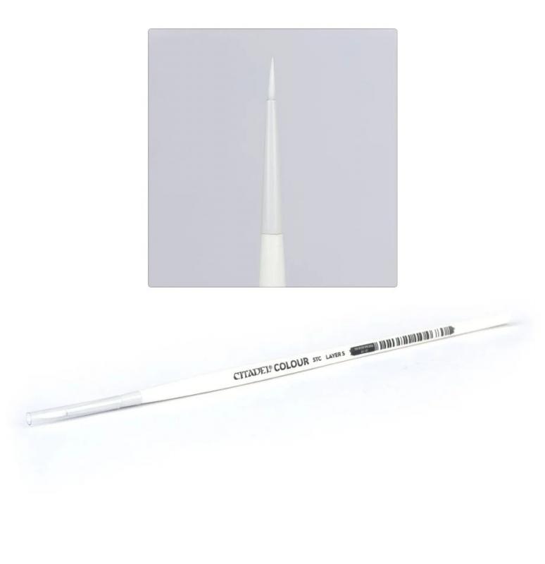 Pennello Citadel Sintetico (STC) - Small Layer brush