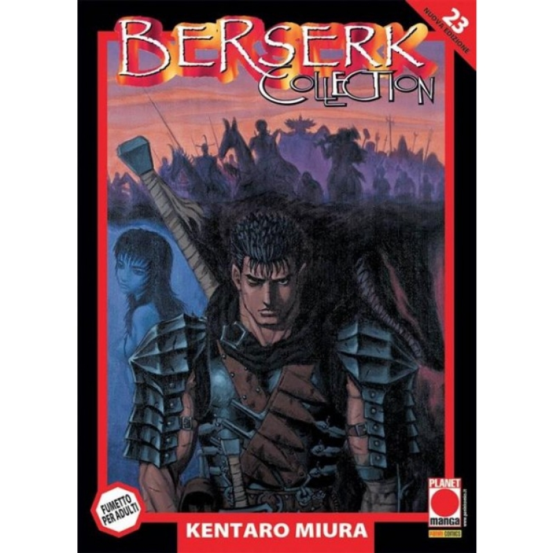 BERSERK COLLECTION SERIE NERA #23 - RISTAMPA