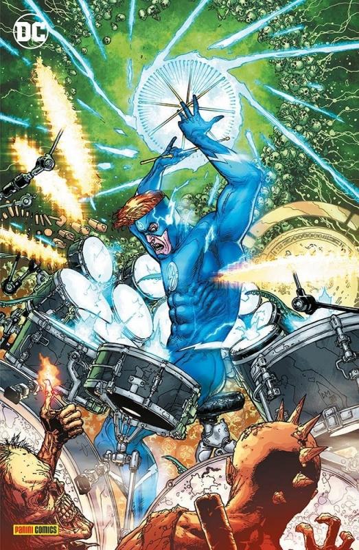 BATMAN: DEATH METAL #4 - VARIANT METAL (DC CROSSOVER #10)