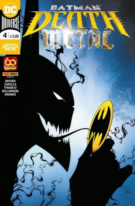 BATMAN: DEATH METAL #4 - (DC CROSSOVER #10)