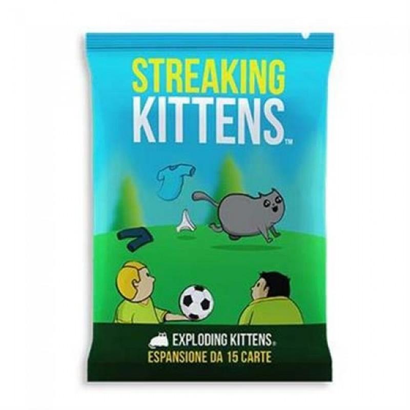 EXPLODING KITTENS - ESPANSIONE STREAKING KITTENS