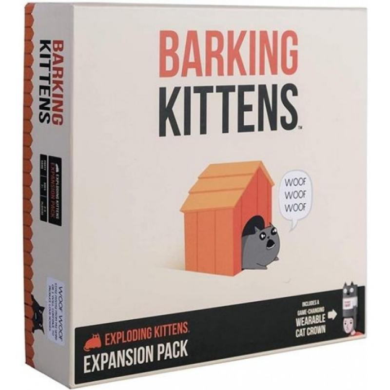 EXPLODING KITTENS - ESPANSIONE BARKING KITTENS