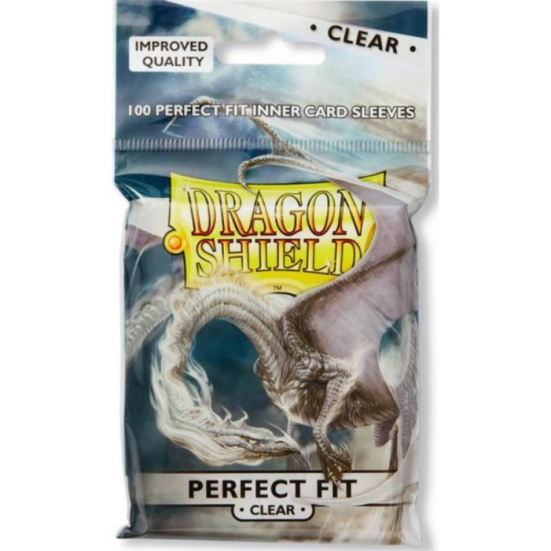 100 BUSTINE DRAGON SHIELD - PERFECT FIT - CLEAR