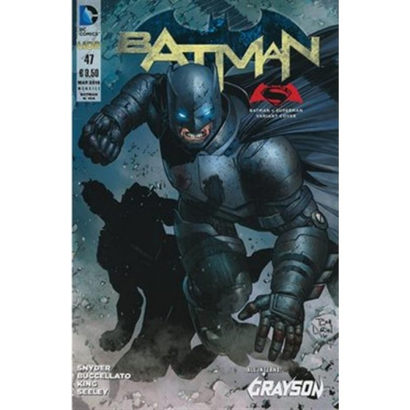 BATMAN THE NEW 52 (LION) 47 - VARIANT DAWN OF JUSTICE