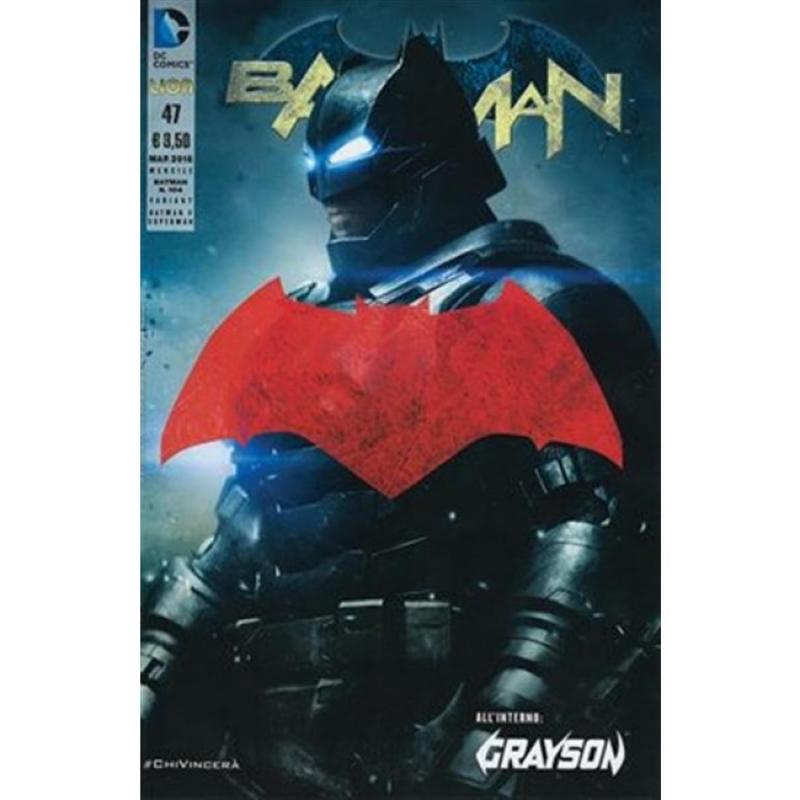 BATMAN THE NEW 52 (LION) 47 - VARIANT FOTOGRAFICA