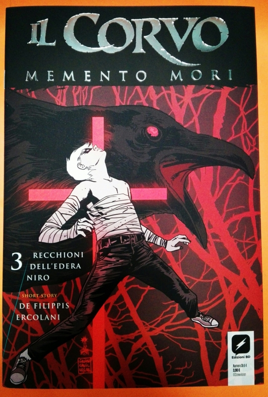 IL CORVO - MEMENTO MORI 3 - VARIANT FRANCESCO FRANCAVILLA