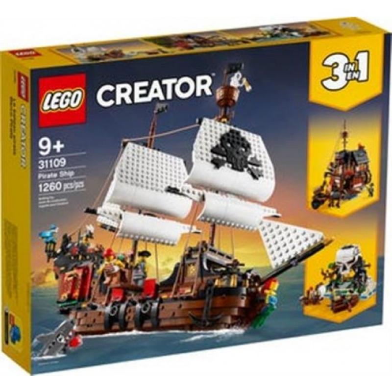 31109 - LEGO CREATOR - GALEONE DEI PIRATI