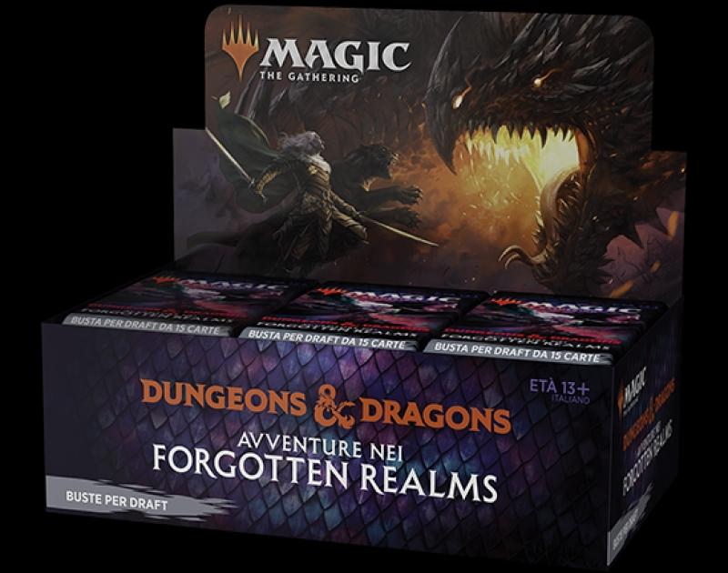 Magic the Gathering - BOX da 36 BUSTINE DI D&D: AVVENTURE NEI FORGOTTEN REALMS (Italiano)