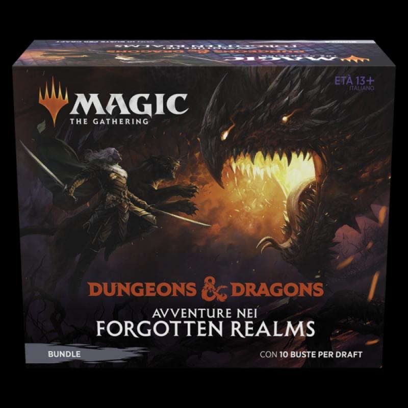 Magic the Gathering - BUNLE D&D: AVVENTURE NEI FORGOTTEN REALMS (Italiano)