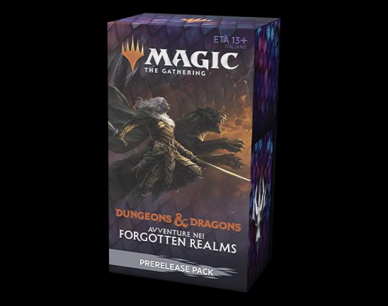 Magic the Gathering - PRERELEASE PACK D&D: AVVENTURE NEI FORGOTTEN REALMS (Italiano)