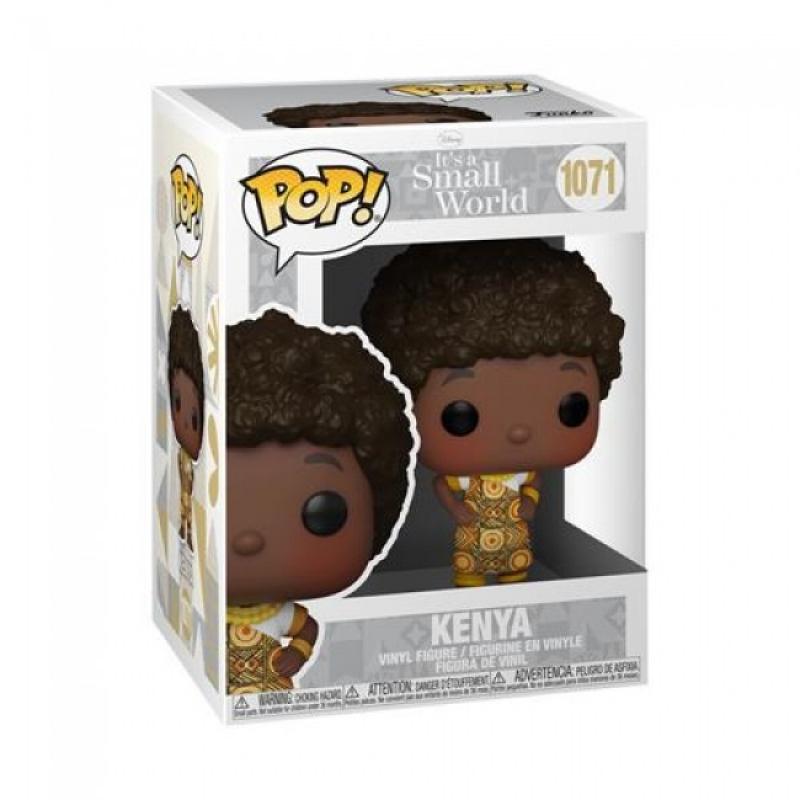 DISNEY: SMALL WORLD - POP FUNKO VINYL FIGURE 1071 - KENYA