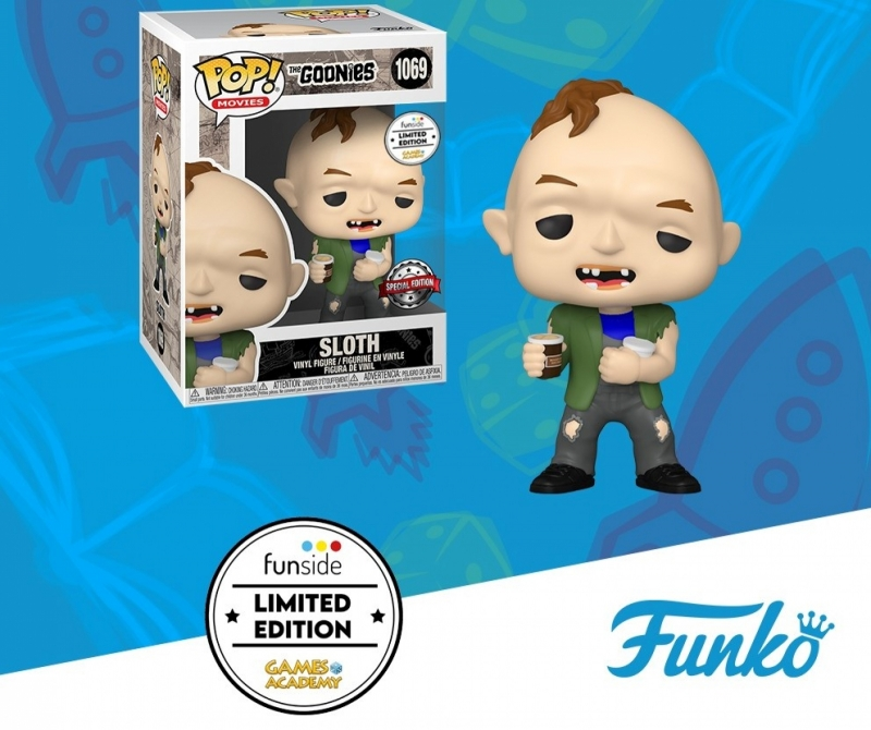THE GOONIES - POP FUNKO VINYL FIGURE 1069 SLOTH W/ ICE CREAM GA EXCL