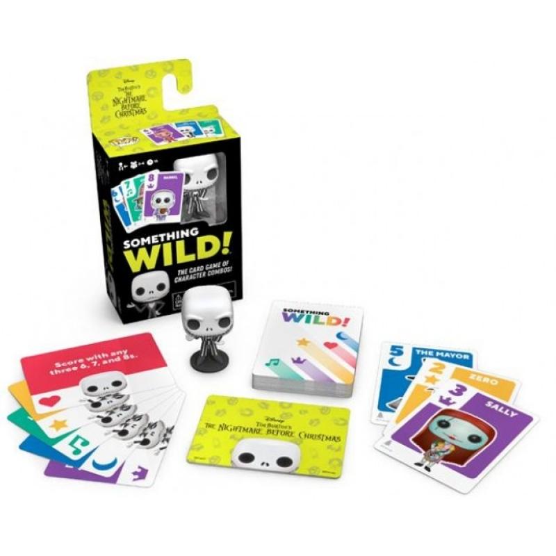 NIGHTMARE BEFORE CHRISTMAS - FUNKO SIGNATURE GAMES: SOMETHING WILD CARD GAME
