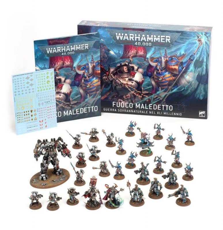Warhammer 40.000 - SCATOLA BASE - FUOCO MALEDETTO