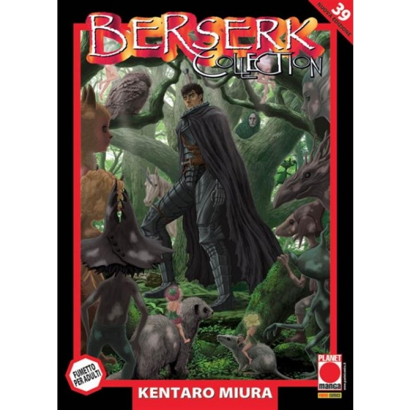 BERSERK COLLECTION SERIE NERA #39 - RISTAMPA