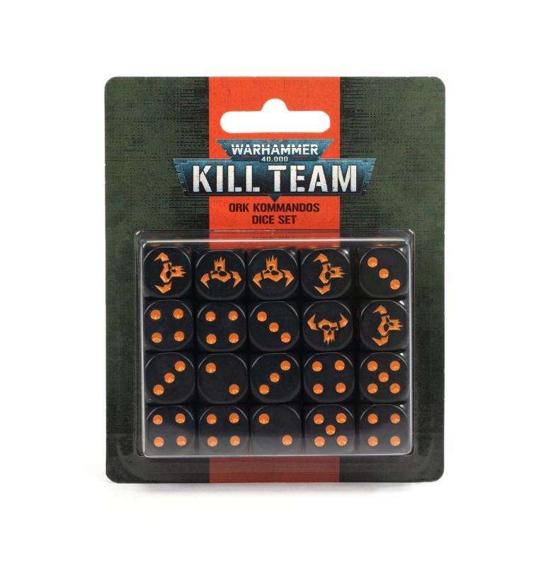 Warhammer 40.000 - KILL TEAM SET DADI - ORKS