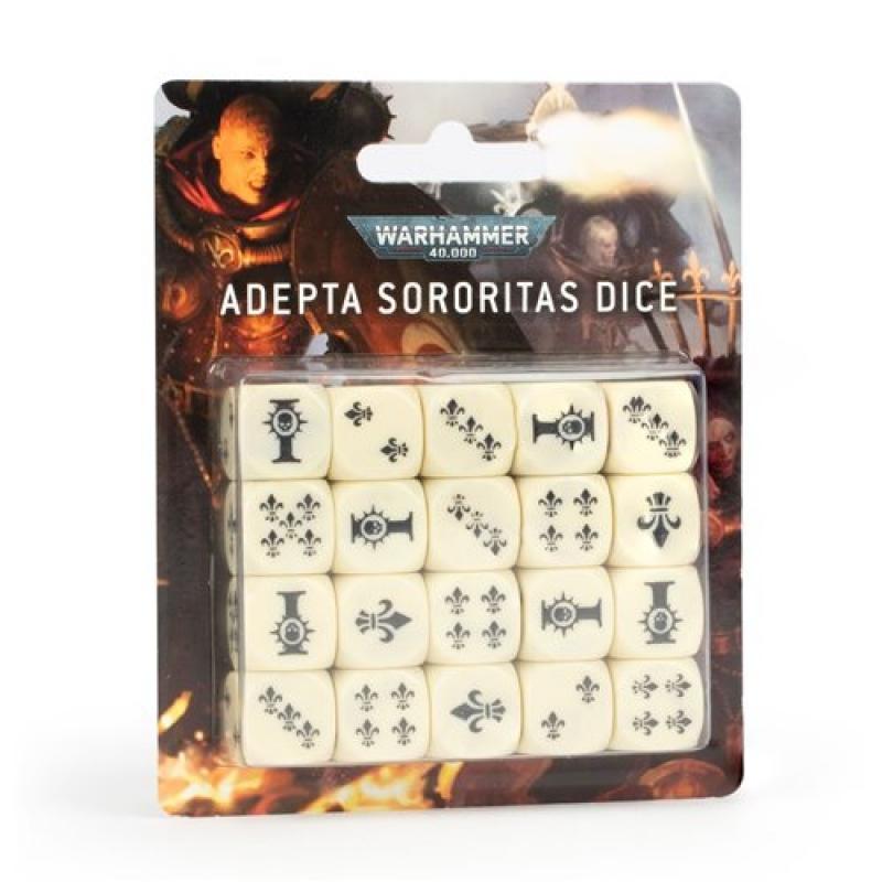 Warhammer 40.000 SET DADI - ADEPTA SORORITAS