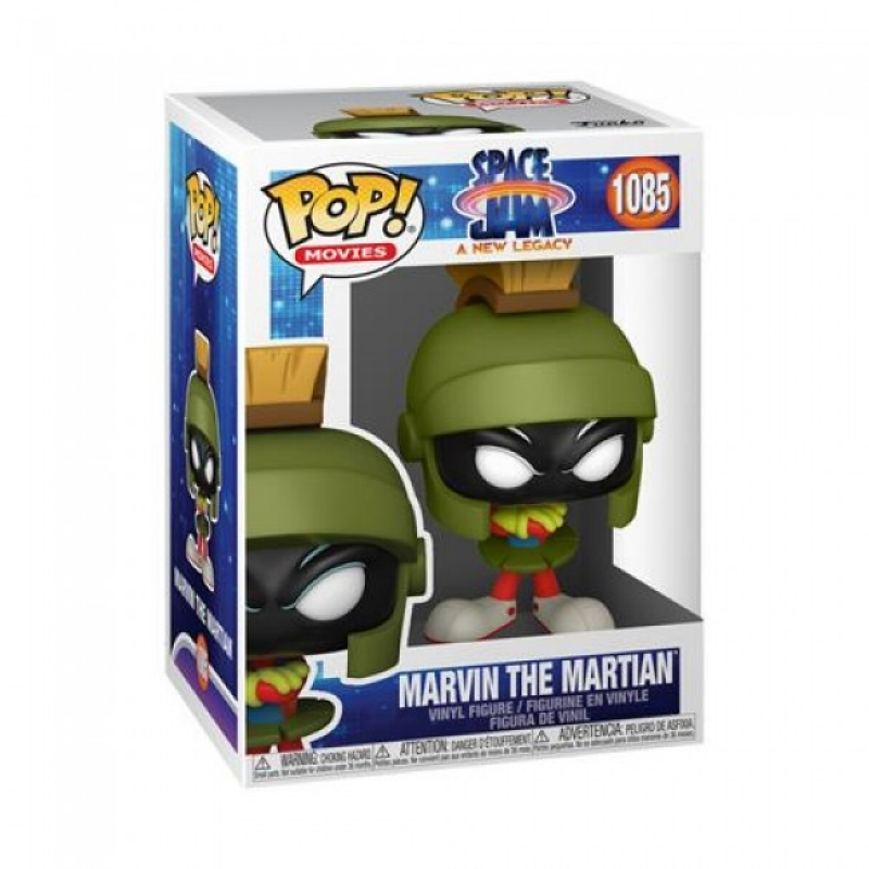 SPACE JAM: A NEW LEGACY - POP FUNKO FIGURE 1085 - MARVIN THE MARTIAN