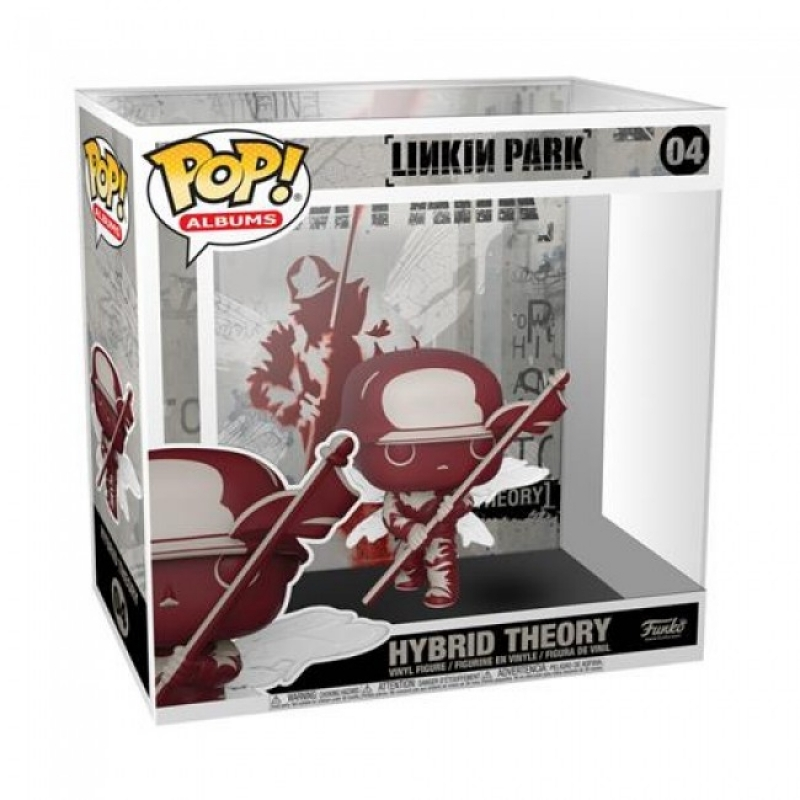 LINKIN PARK - POP FUNKO VINYL FIGURE 04 - HYBRID THEORY ALBUM