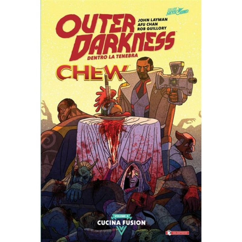 OUTER DARKNESS 3 + CHEW- CUCINA FUSION