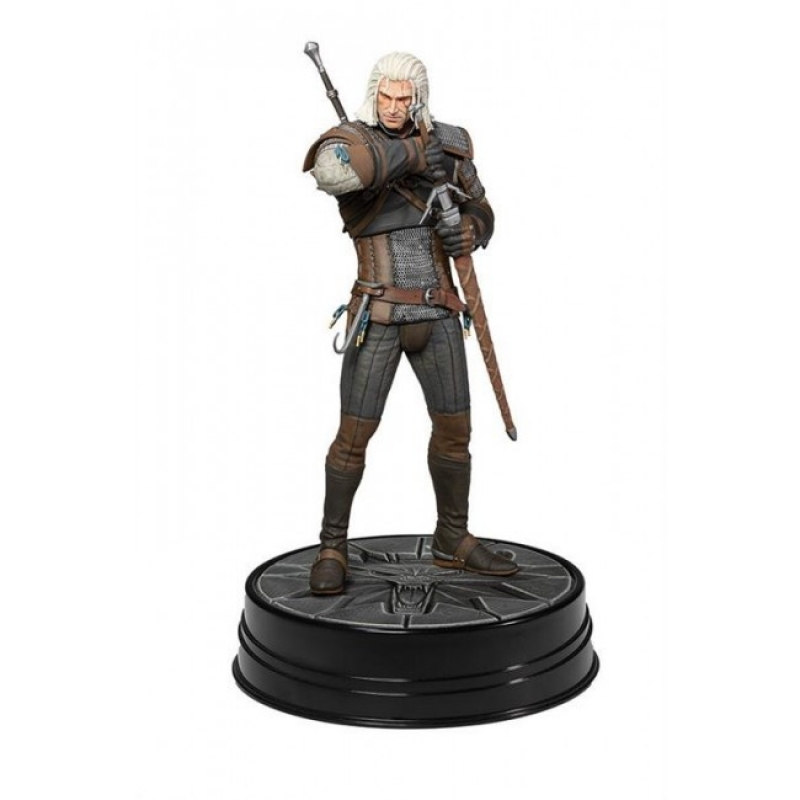 THE WITCHER 3: HEART OF STONE - GERALT OF RIVIA STATUA