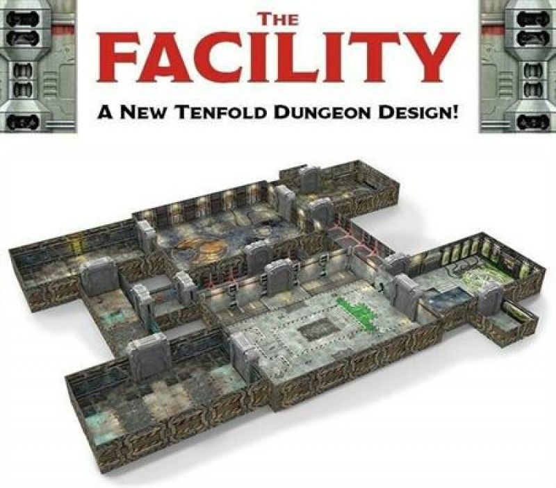 TENFOLD DUNGEON - THE FACILITY - TABLETOP MODULARE