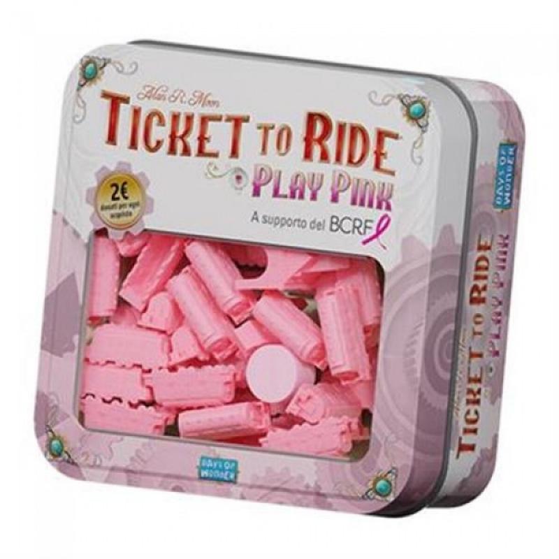 TICKET TO RIDE - PLAY PINK - INIZIATIVA BENEFICA